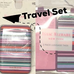 * Wallet and Luggage Tag Set